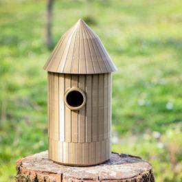Kučica za ptice Wood 3D Print