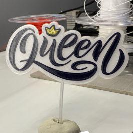 Toper Ukras za tortu Queen