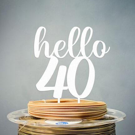 Toper Hello 40 Bijela