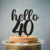 Toper Hello 40 Crni