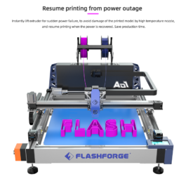 FlashForge AD1 Channel Letter 3D Printer