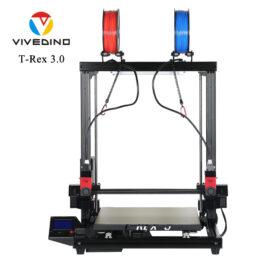 Vivedino Formbot T-Rex 3.0+ – Dual Extruder Idex – 400x400x500mm – Nova ažurirana verzija