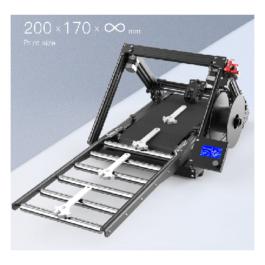 Creality CR-30: 3DPrintMill, Infinite-Z, 3D pisač s pojasom